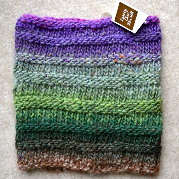 Soft and warm Ebb & Flow Cowl from Legacy by LegacyLaneFibreMill, $50.00