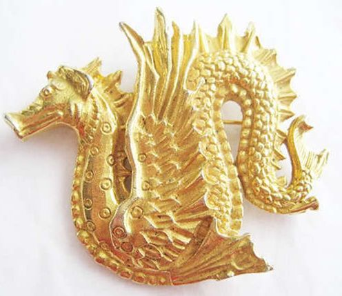 My Dacian ancestors fought these guys in the foothills of the Carpathians - Scythian Gold Dragon