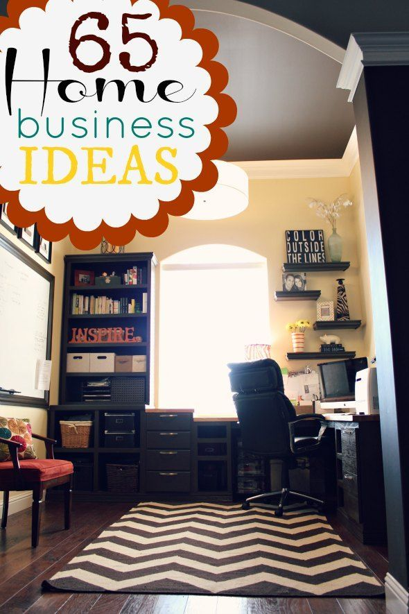 Small Business Home Based Ideas Part - 24: 65 Home Based Business Ideas You Can Start Today! | Make Money At Home |  Pinterest | Business, Business Planning And Business Planner