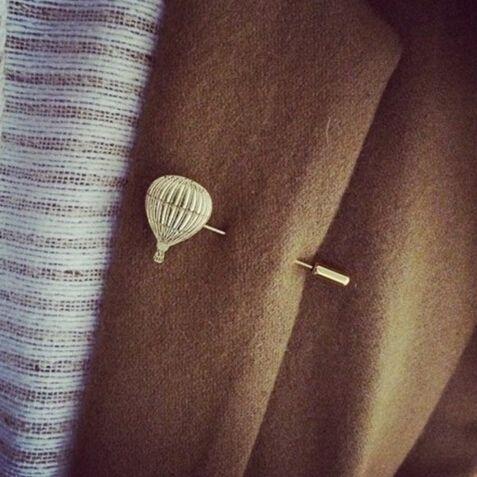Заколка для одежды Воздушный шар