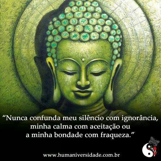 Nunca confunda meu silencio com ignorância, minha calma com aceitação ou minha bondade com fraqueza.