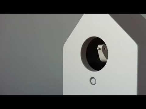 無印良品の鳩時計が3時をお知らせいたします - YouTube