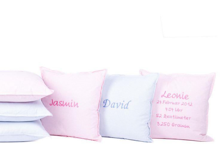 Namenskissen | Cushion | Designer Kissen | Geburtskissen