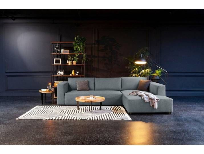 Tom Tailor Eck Sofa Blau 282cm Recamiere Rechts Heaven Style M In 2020 Outdoor Furniture Sets Sofa Couch