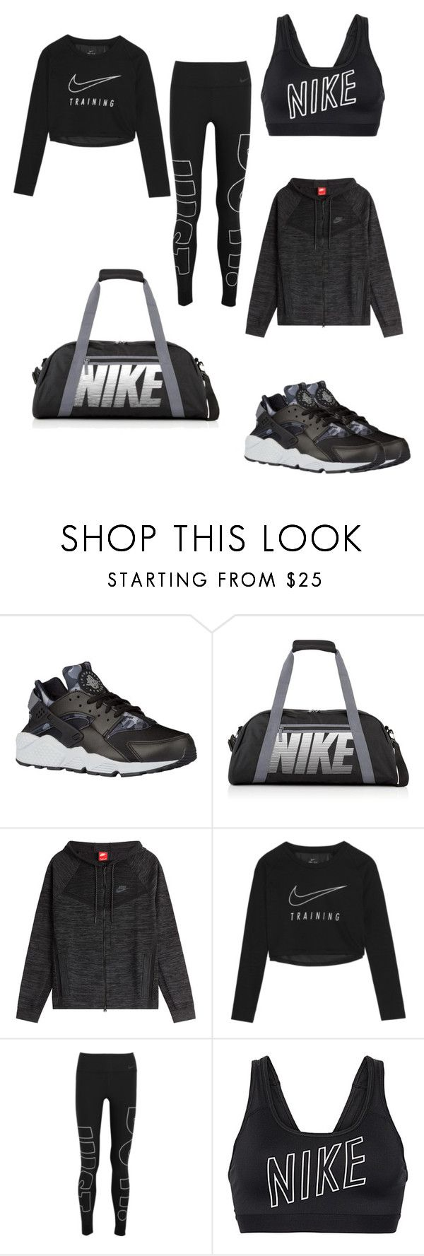 """""""Just do it ✔️"""" by eiffelstyles ❤ liked on Polyvore featuring NIKE"""