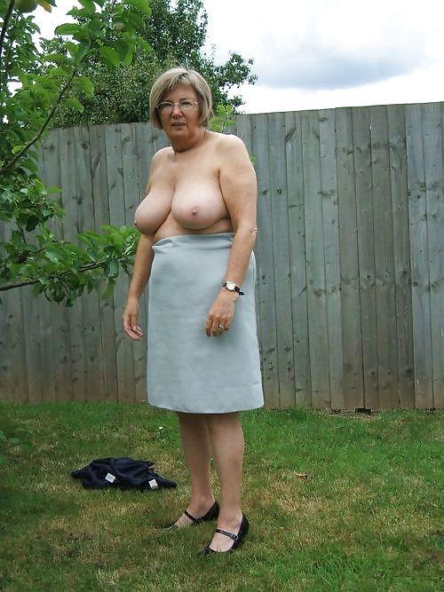 Back chubby door granny it's all