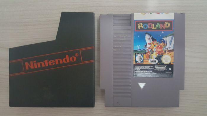 Rodland zeldzame spel Nintendo NES PAL A - alleen cartridge  Zeer zeldzame spel voor de nintendo nes helaas alleen heb ik de game cartridge en het zwarte geval kijk op de prijzen rond  EUR 40.00  Meer informatie