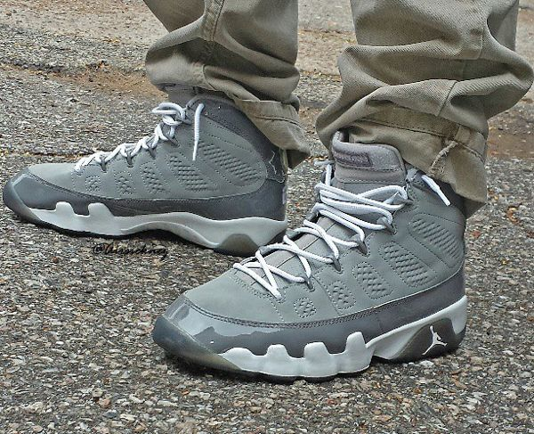 03175f0f0a1 Air Jordan 9 Cool Grey - Airsicknez-1 | Kicks in 2019 | Air jordans, Jordans,  Air jordan 9