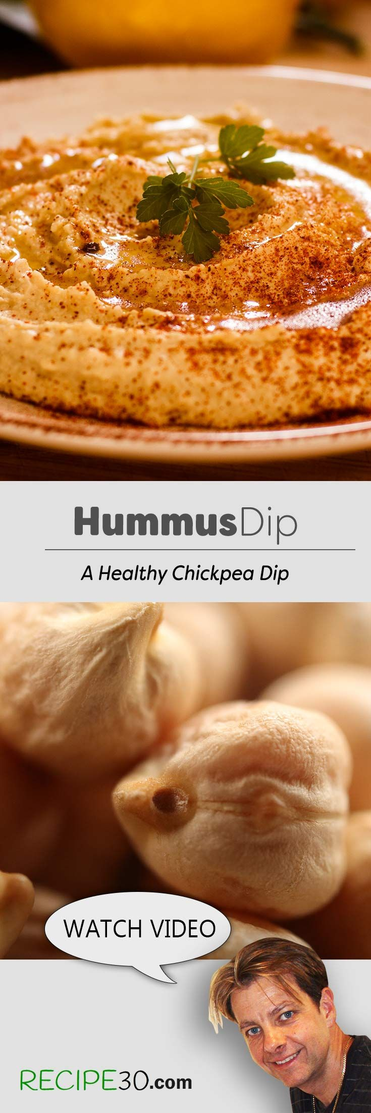 Hummus Middle Eastern dip that's easy to make
