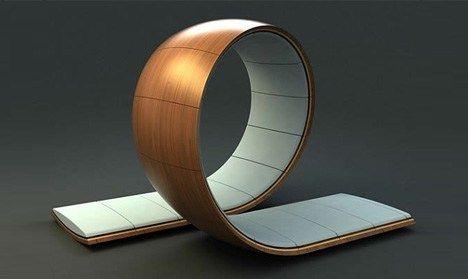 Olhando no papel, o design impressiona, mas quando a peça se materializa o resultado é ainda maisincrível. Encontramos o conceito no Dornob.com.