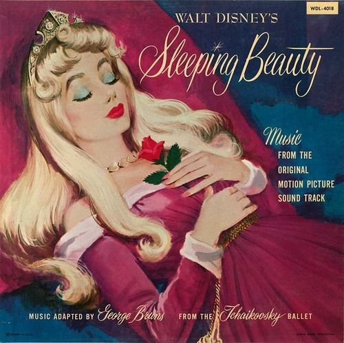 vintage sleeping beauty vinyl
