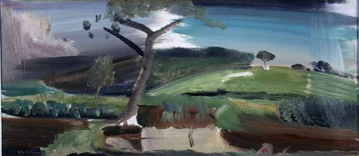 ▶ audioBoom / Commentary on the painting by Ivon Hitchens, Essex River