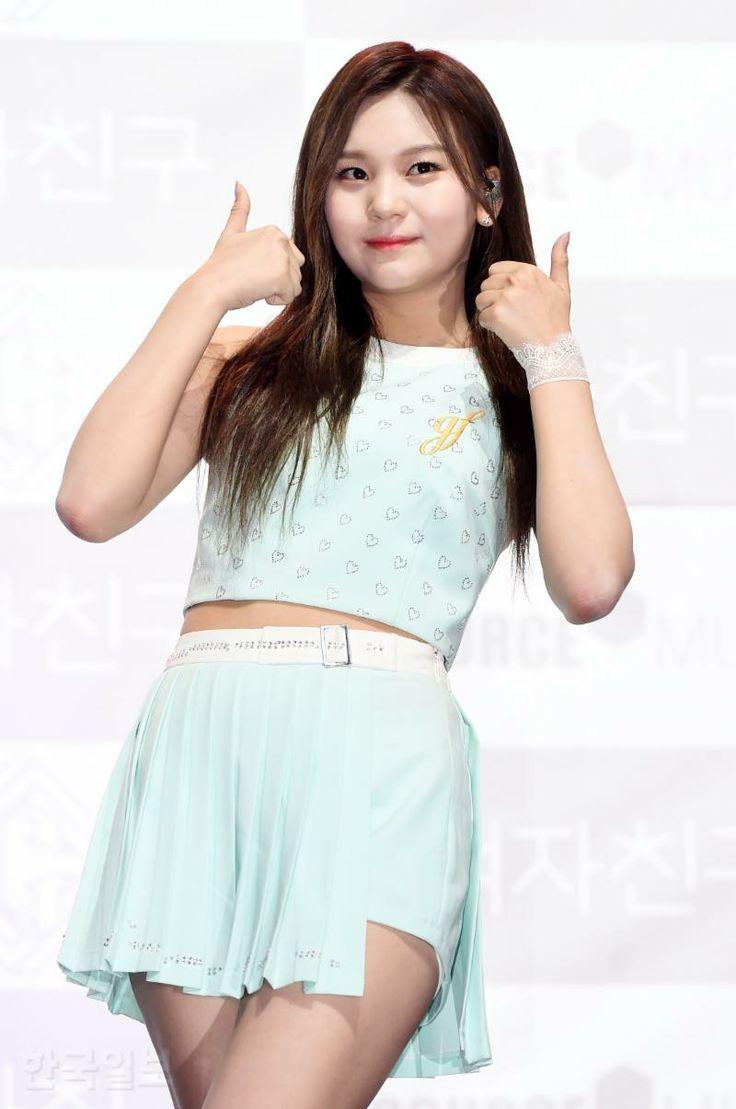 Gfriend for comeback showcase love whisper at younsei university auditorium. Cr: twitter  -Heize