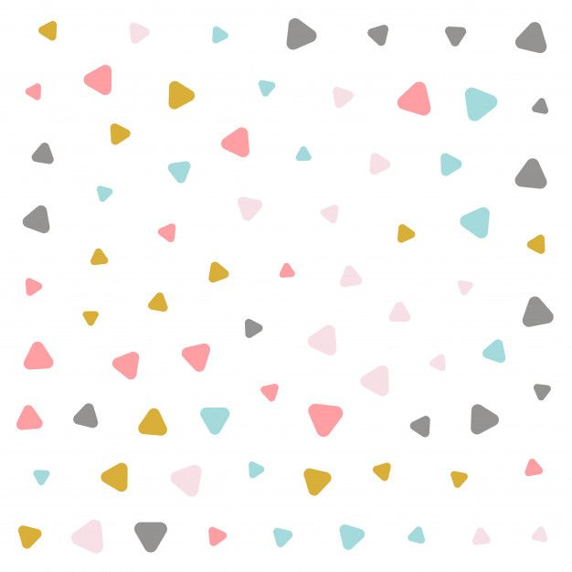 Download Colorful Pastel Triangle Pattern Design For Free