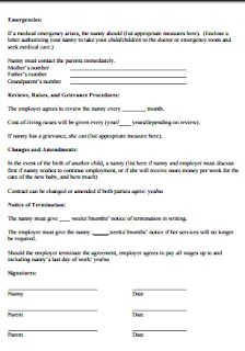 Editable nanny contract fill out and sign printable pdf template.