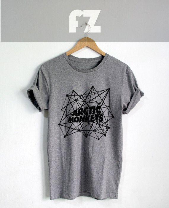 Arctic Monkeys Shirt The Artic Monkeys Shirts Tshirt T-shirt Tee Shirt Grey Color Unisex Size - NK35