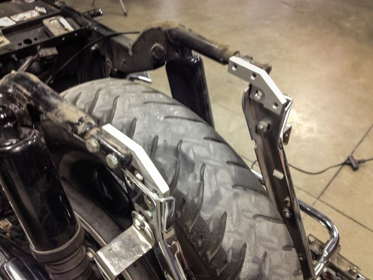 1997-2008 Bagger Fender Install with Stock Fender | Bad Dad | Custom Bagger Parts for Your Bagger