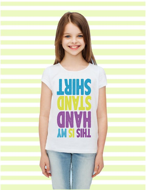 This is my handstand shirt Gymanstics T-Shirt. by madlewdesigns