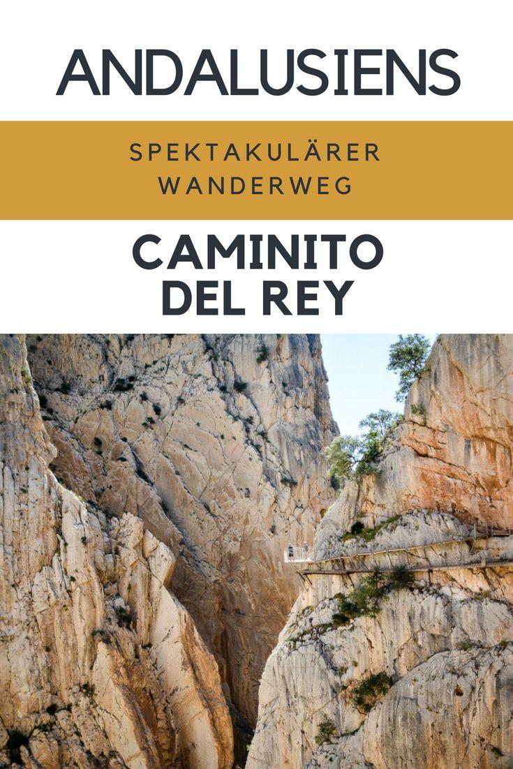 Der Caminito del Rey ist ein Tagesausflug von Malaga, Sevilla und der Costa del Sol. Absoluter Geheimtipp. Spektakuläre Wanderung durch tiefe Schluchten und fruchtbare Täler. (scheduled via http://www.tailwindapp.com?utm_source=pinterest&utm_medium=twpin)