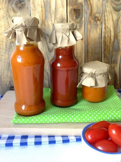 Domáci kečup a skvelá paradajková omáčka