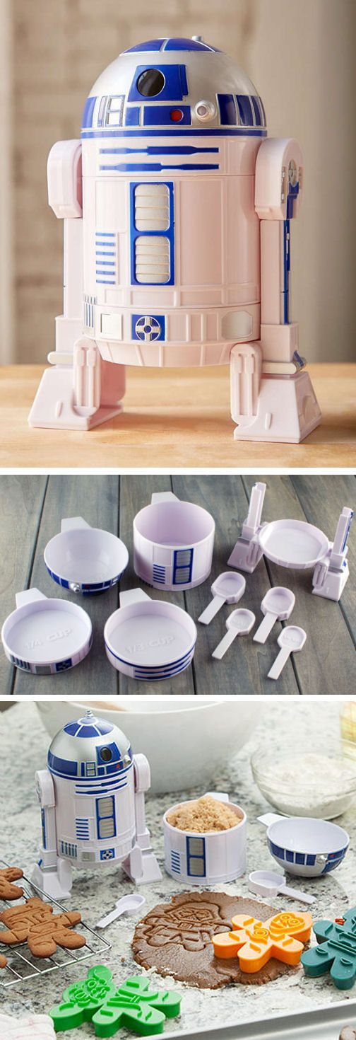Star Wars R2-D2 Measuring Cup Set ❤︎ OMG #want #need #love