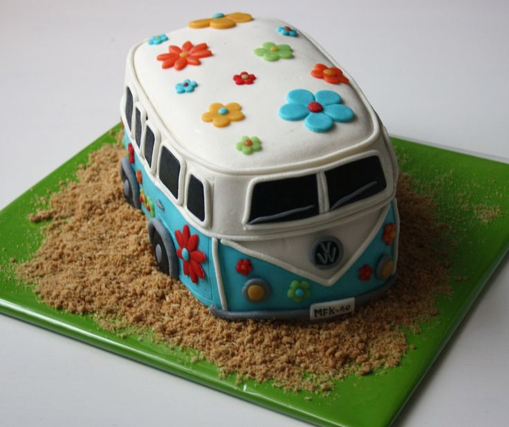 VolksWagen+bus - Jimmy's groom cake?