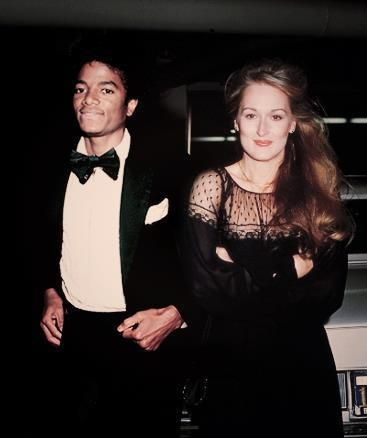 With Michael Jackson in 1979