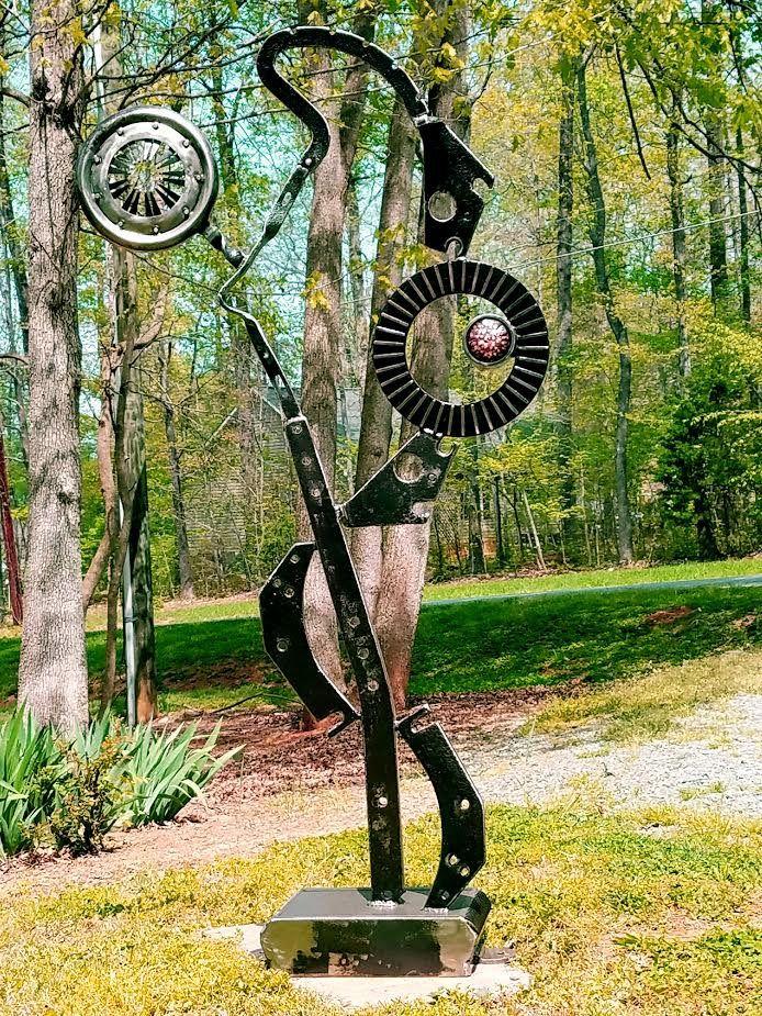 Metal Sculpture Abstract Sculpture Metal Art Outdoor Sculpture