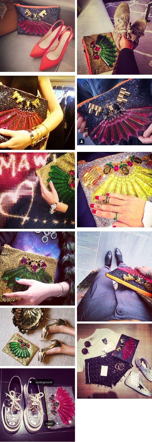 Новые 2015 Мода Марка MAWI драгоценный сумки партии блестки клатчи кристалл оболочки вечерние сумочки-inClutches из багажа и сумки на Aliexpress.com | Alibaba Group