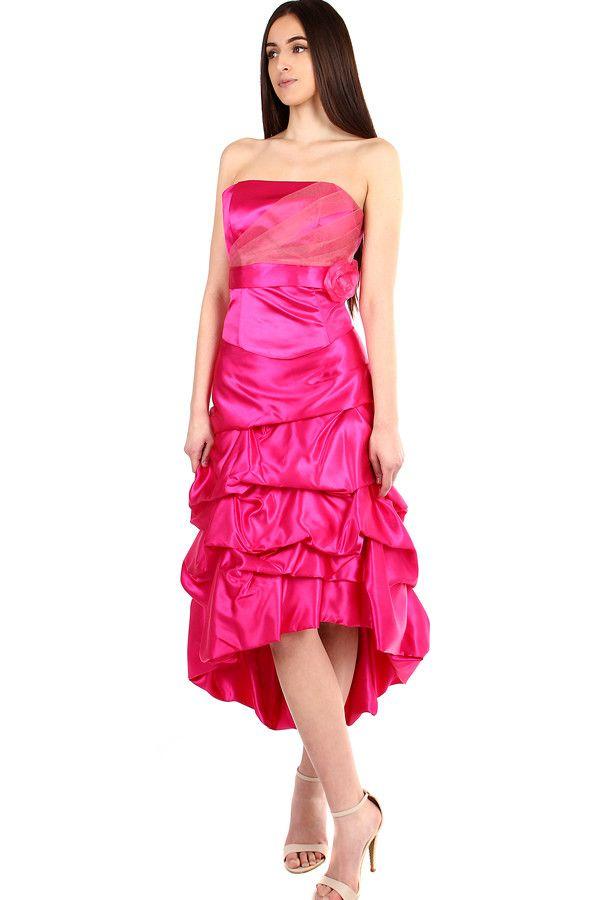 37e485b7daee Dámské růžové korzetové šaty na ples - koupit online na Glara.cz  damskesaty