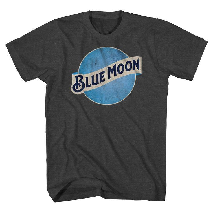 Blue Moon Men's Big & Tall T-Shirt Charcoal Grey