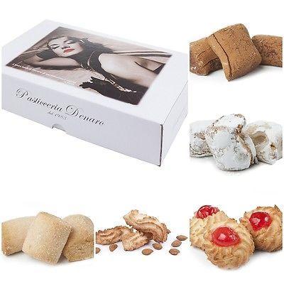 Confezione biscotti di mandorla d'Avola 500 gr prodotti tipici di Sicilia
