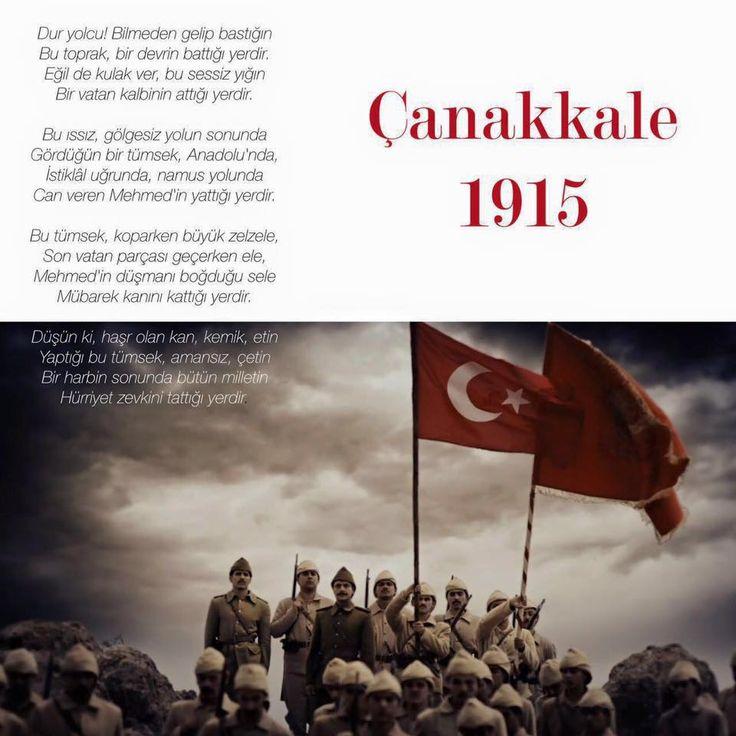 101 yıl önce bugün, Çanakkale'yi geçilmez kılan kahramanlarımıza sonsuz teşekkürlerimizle!