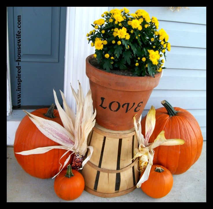 Inexpensive thanksgiving Decorating Ideas | Inspired-Housewife: Personalized and Inexpensive Fall Decorating Ideas ...