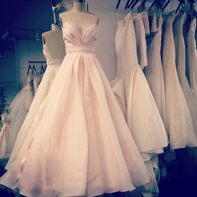 gorgeous blush wedding gown by @Carol Hannah Whitfield  ...my dream gown!