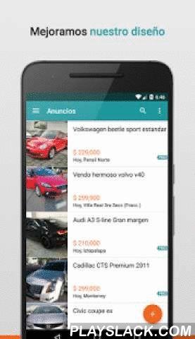 Segundamano.mx  Android App - playslack.com ,  ¡Conoce la app Android oficial de Segundamano.mx!Segundamano.mx es la solución más fácil y segura para comprar y vender cosas usadas cerca de casa en todo México.- Encuentra cientos de miles de productos y servicios- Vende las cosas que ya no estás utilizando y gana un poco de dinero- Maneja tus anuncios fácilmente desde tu cuenta- La aplicación es 100% GRATIS y fácil de usarEn nuestra nueva aplicación de Android de segundamano.mx podrás buscar…