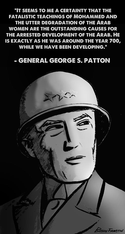 General George S. Patton on Islam