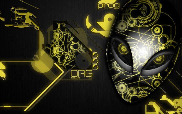 Alienware Wallpapers : Yellow Alienware Wallpaper