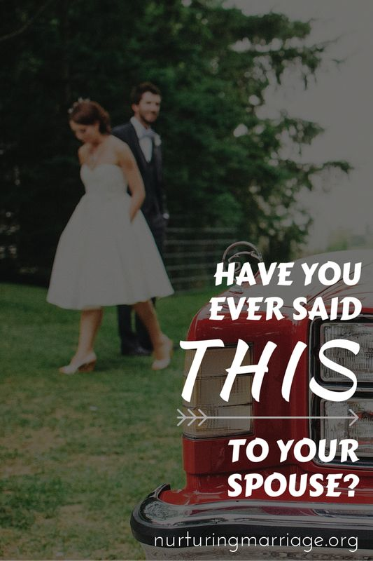 GUILTY. Haha, I am so guilty of saying this to my husband! I loved this reminder and I've got to watch myself from now on! #marriage #communication