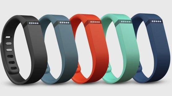 Fitbit Flex Bands. Tracks how many hours of sleep you get, how many steps you take, and the number of calories you burn. Perfect mini fit trainer right in your wrist.