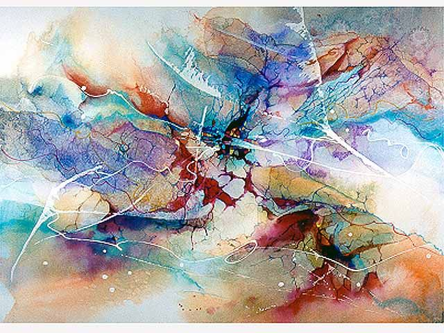 18 best images about Abstract watercolours on Pinterest | Abstract ...