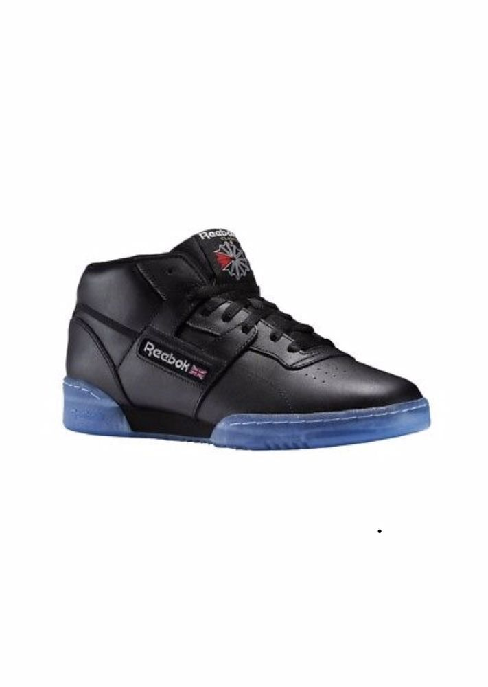 d9f5d9e020a623 REEBOK CLASSICS-Men s Workout Mid Black Leather with Ice Blue Gum Sole-Size  10  fashion  clothing  shoes  accessories  mensshoes  athleticshoes (ebay  link)
