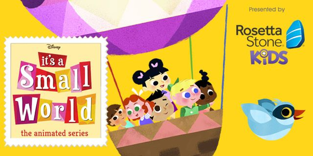 It's a Small world animated Series!!!!!!!