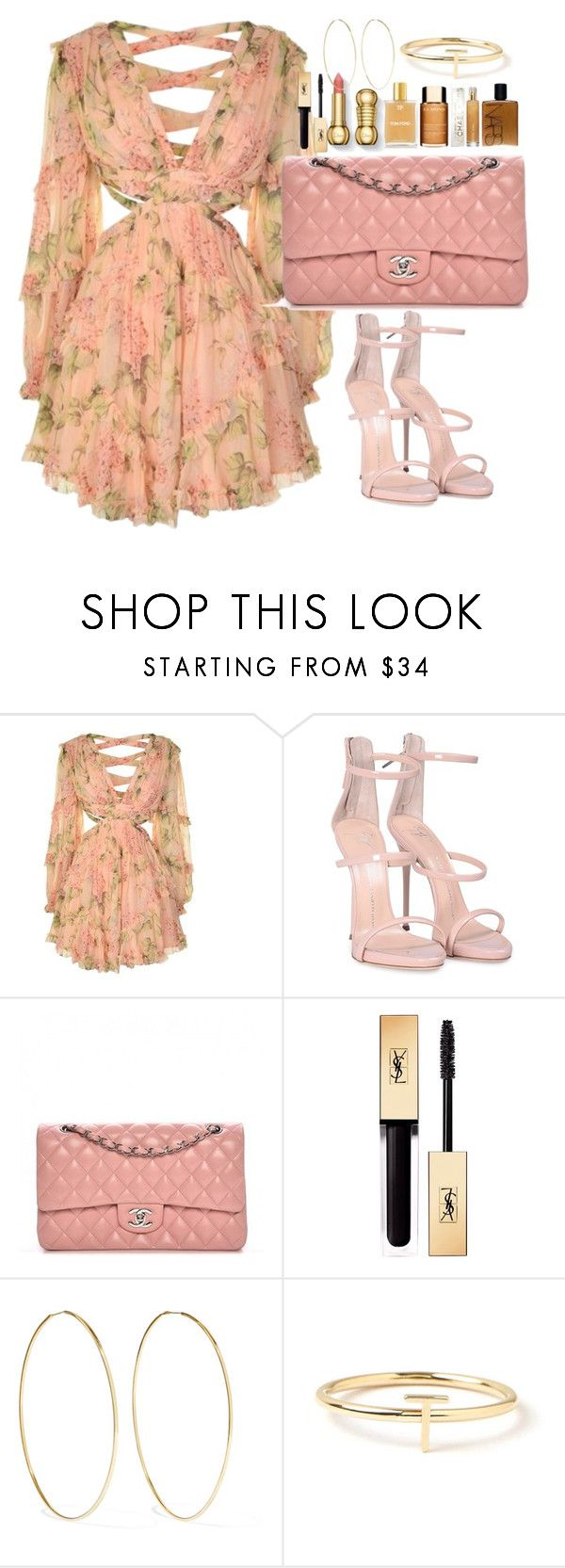 """Zimmermann"" by matousadiya on Polyvore featuring mode, Zimmermann, Giuseppe Zanotti, Chanel, Yves Saint Laurent, Magda Butrym et Maya Brenner Designs"