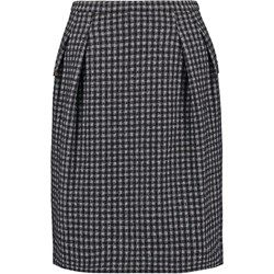 Strenesse SUNNA Spódnica mini schwarz/grau