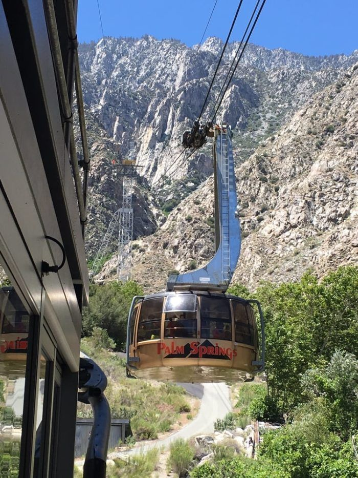 But this isn't just any average tram. The Palm Springs Aerial Tramway is the largest rotating aerial tramway in the entire world. Yes, you read that right -- the world.