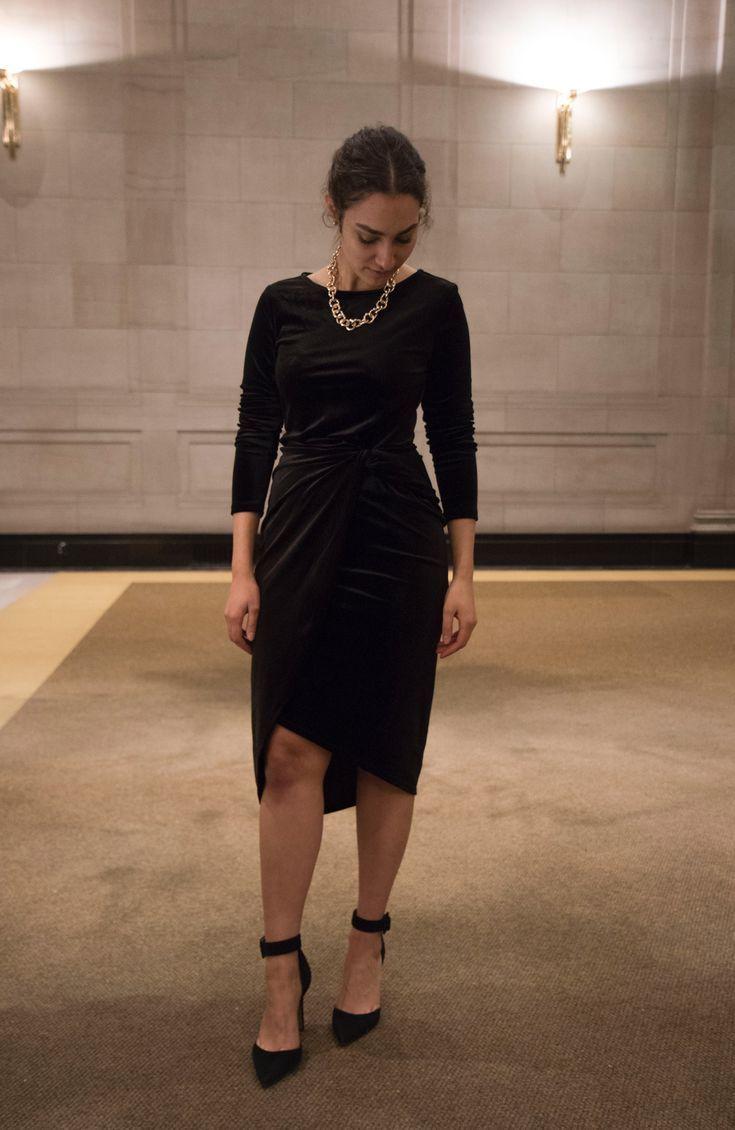 2e706d2335e  Statement  earrings  evening  look  elegant  outfit  LBD  little  black   dress
