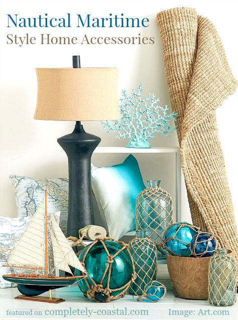 Nautical Home Decor Accessories : Nautical Maritime Style Home Decor Accessories - Home Decor