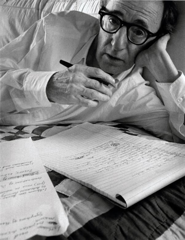 Woody Allen New York NY 1996 | Arnold Newman
