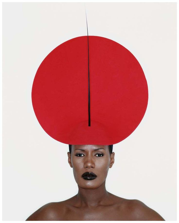 Grace Jones, London, 1998, From PHILIP TREACY BY KEVIN DAVIES